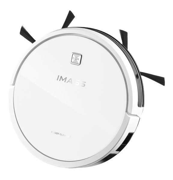 350ml tank battery powered wood floor smart robot vacuum cleaner cyclone strong suction robot cleaner
