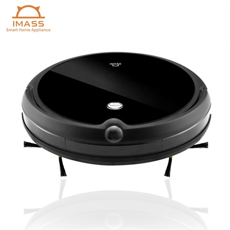 Professional Manufacturer Automatic Recharge Voice Notice Robot Vacuum Cleaner for Home Household Sweeping