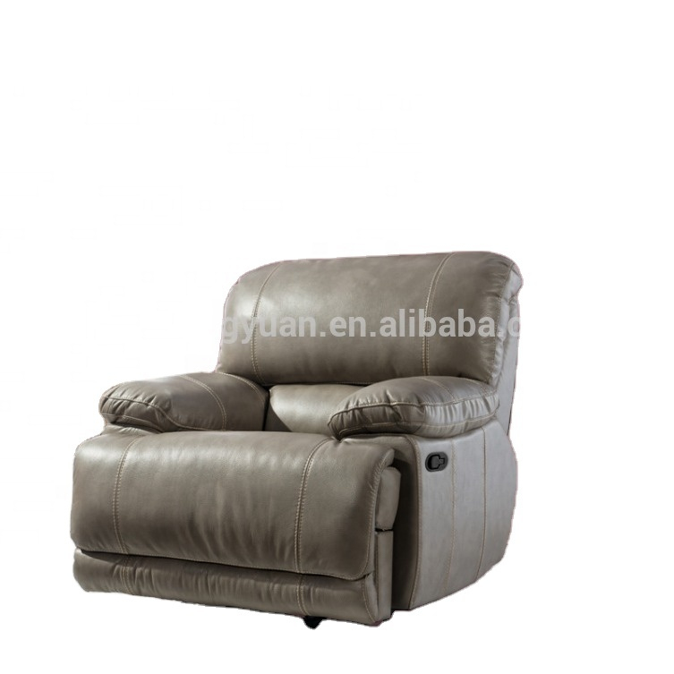 ModernReclining Sectional Living Room7 Seater LeatherFurnitureAutomatic Recliner Sofa Set