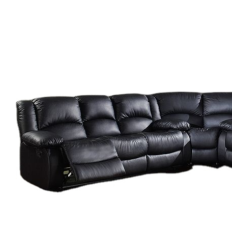 2021 living room sofas faux leather reclinercorner sofa set with chaise