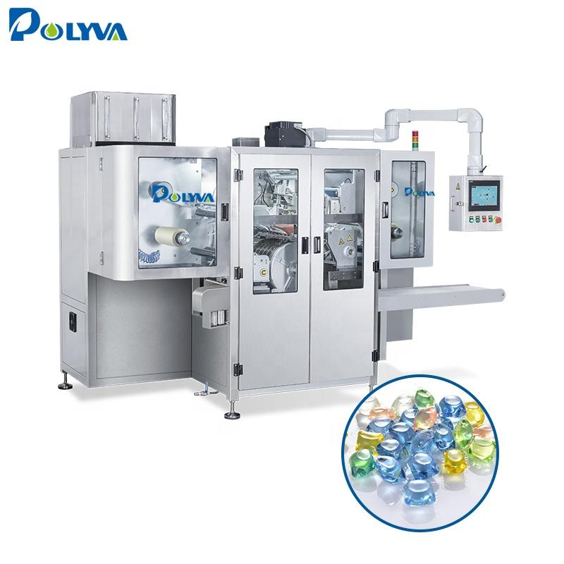POLYVA PDA high speed automatic laundry detergent powder/ liquid pods/dose packing machine