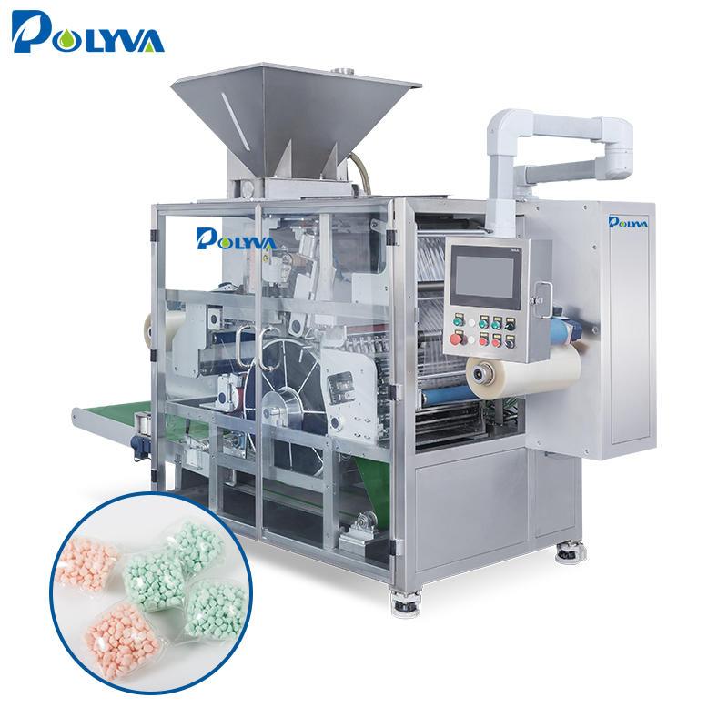 Polyva machine China supplier good quality washing pods detergent powder cheap capsule packing filling machine good price liquid
