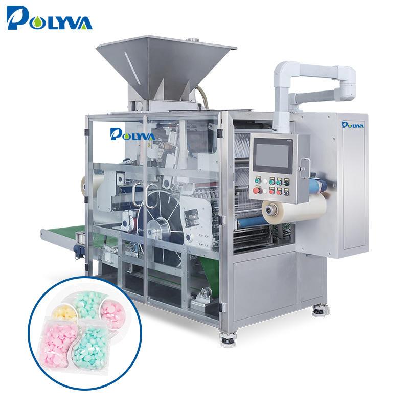 POLYVA cheaper machine automatic powder pods filling packaging machine of washing machine