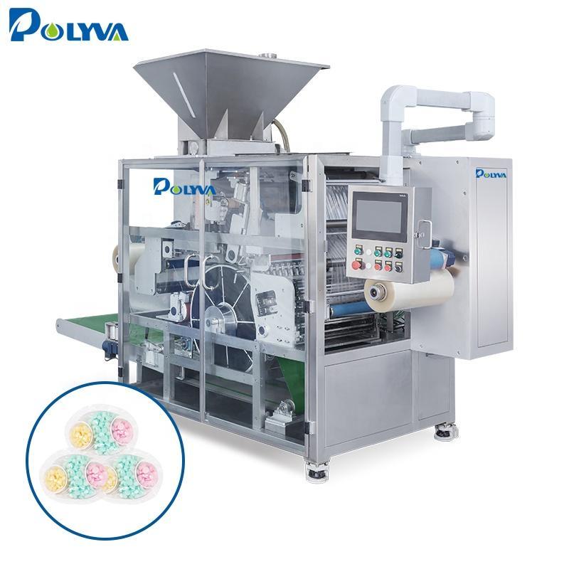 Polyva machine 3 in 1 liquid soap new pods products packaging machine drum type air packaging machine