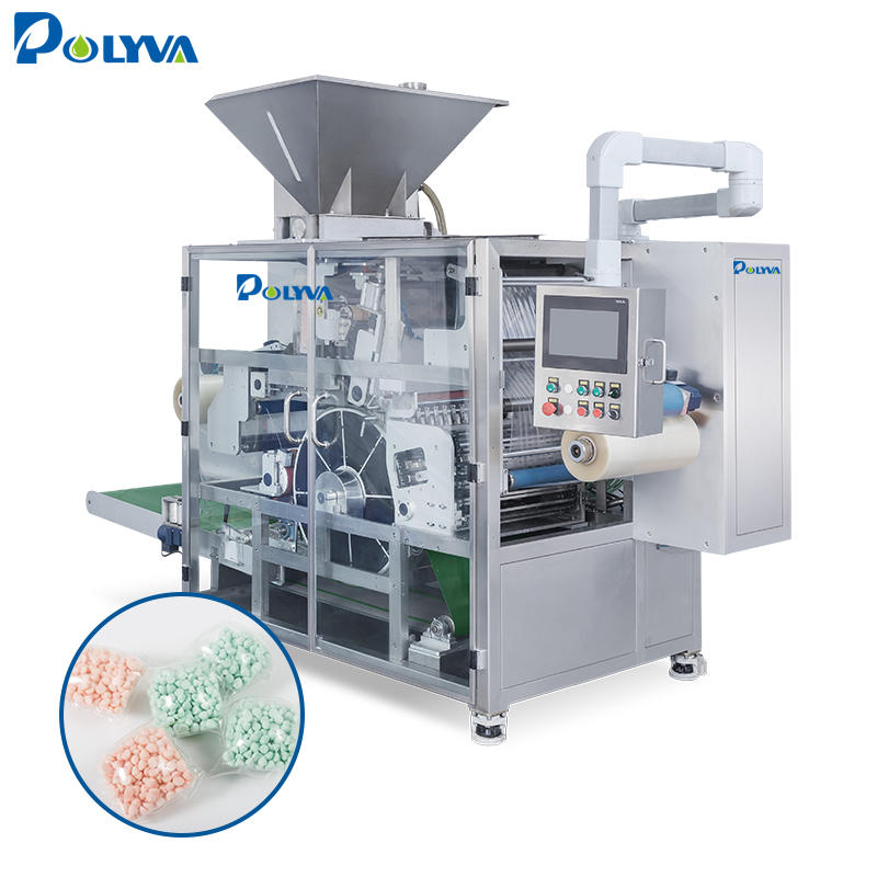 pillow high speed laundry pods packaging machine