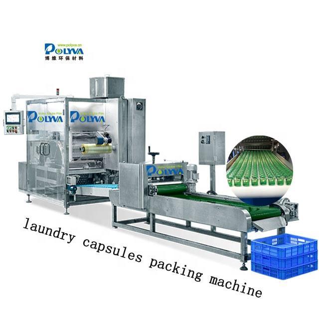 Polyva multi chambers liquid detergent automatic making laundry pods liquid packaging machine.
