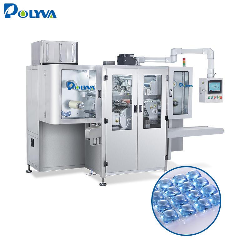 Polyva new product automatic filling machine washinglaundry pods packaging machine