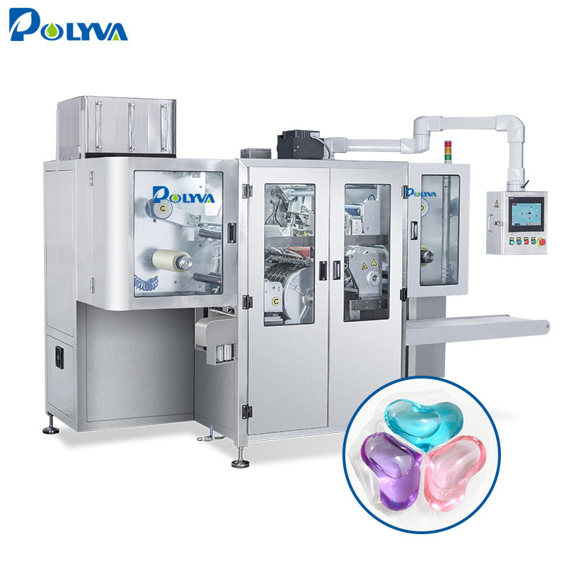 Automatic laundry detergent pods washing pods filling packaging machine