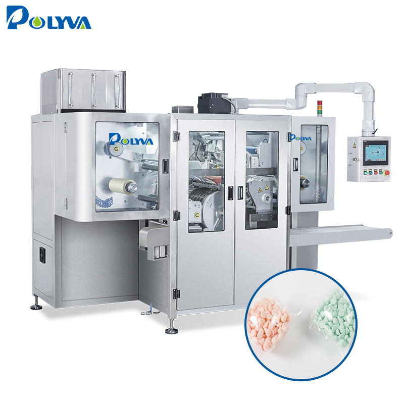 Polyva oil packing machine laundry pod packing product detergent pods packing machine with long service
