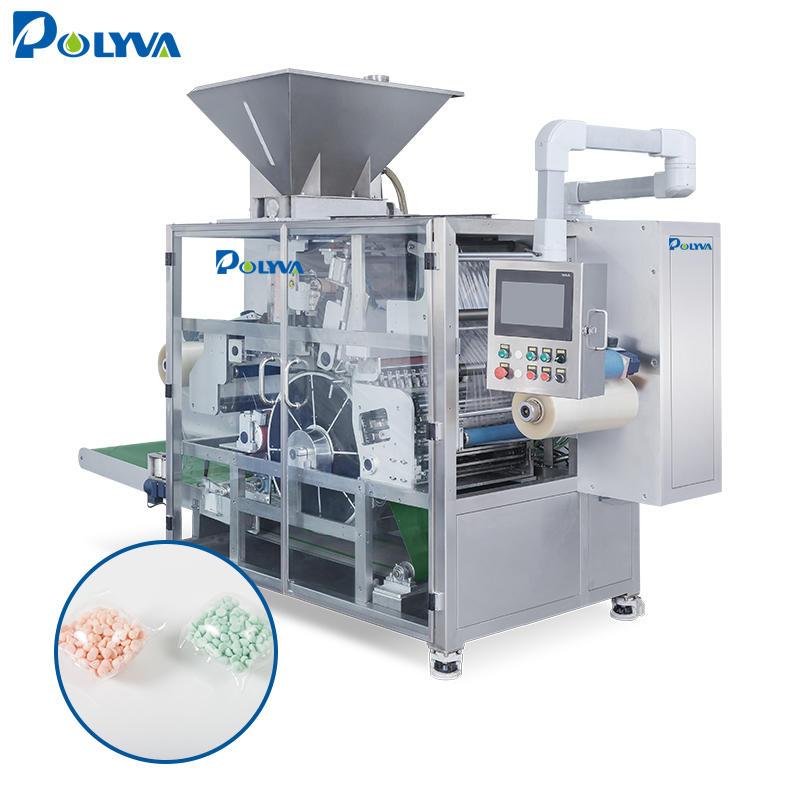Polyva baby laundry washing pods making machine water soluble film bacteriostatic pods liquid packaging machine