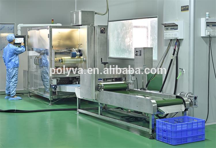 easy to operate automatic independently developed laundry pods packaging machine
