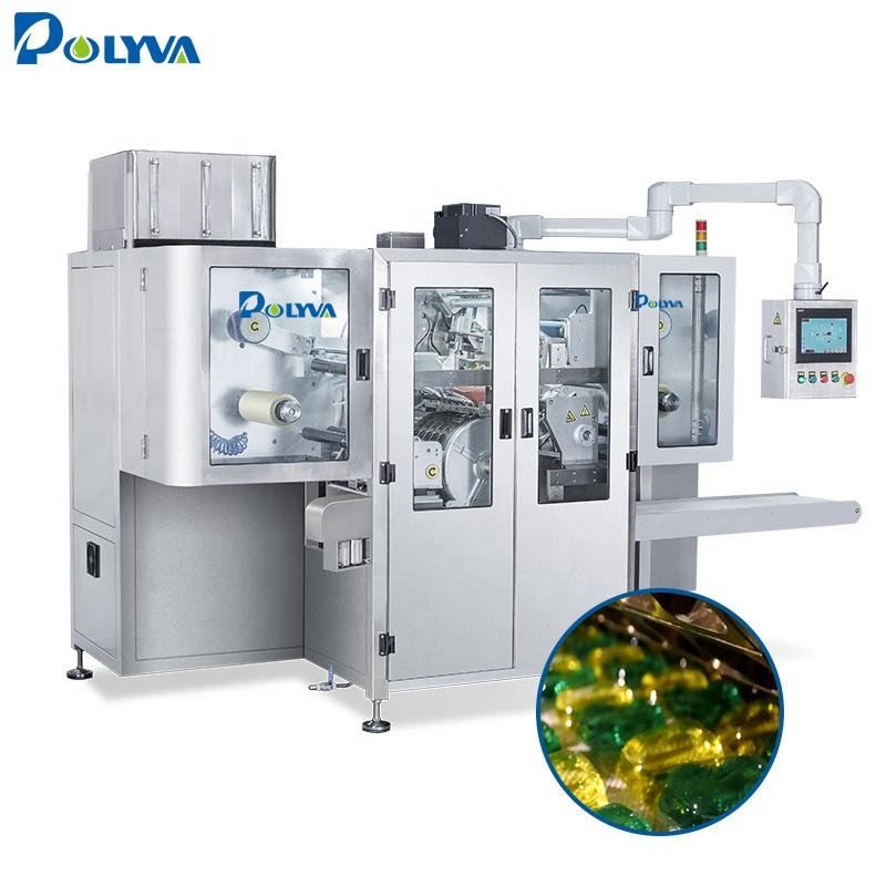 Polyva 25g laundry pods making machine efficient cleaning capsule oil machine laundry detergent packaging