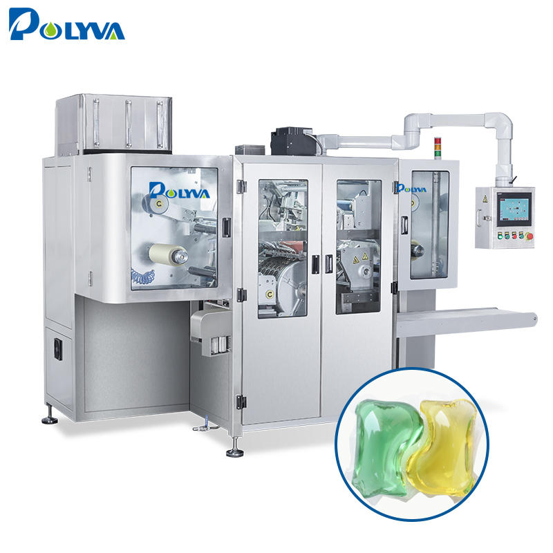 automatic film change laundry pods packaging machine
