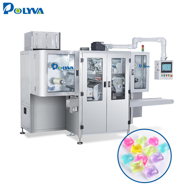 Polyva washing laundry 3 in 1 pods detergent capsule machine automatic powder filling and packing machine