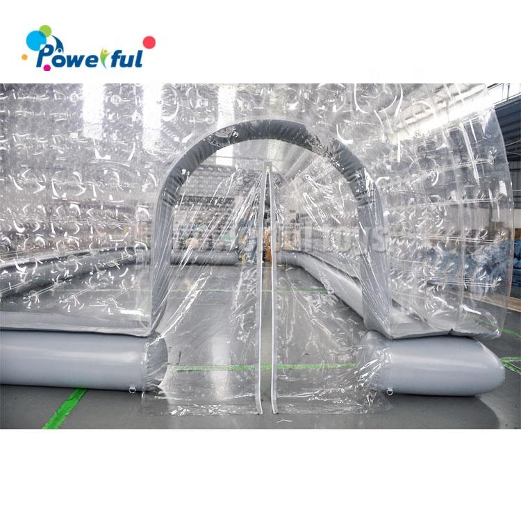 Giant inflatable pool bubble dome cover above ground pool tent for outdoor swimming pool enclosures