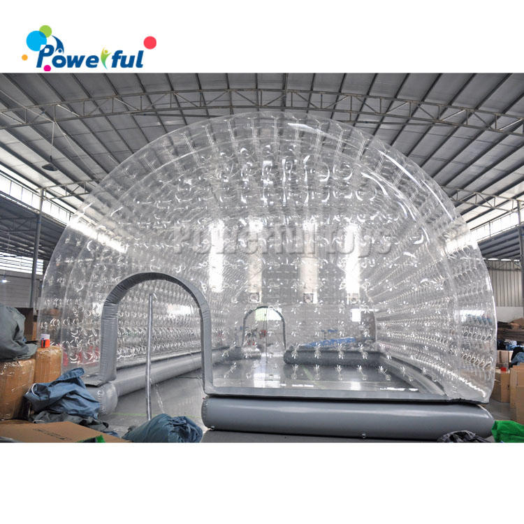 clear inflatable bubble dome cover,inflatable swimming pool dometent for Winter