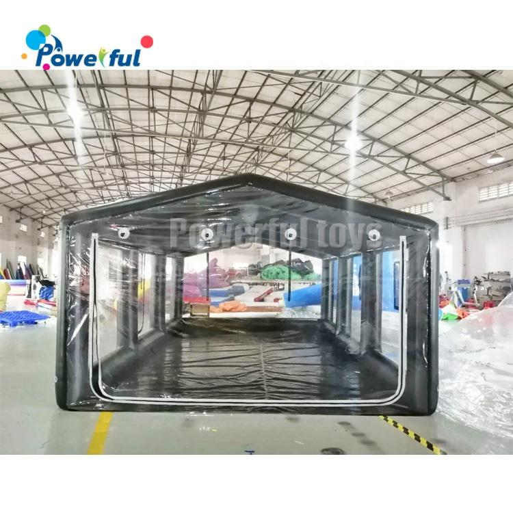 New design inflatable car capsule showcase indoor inflatable car cover