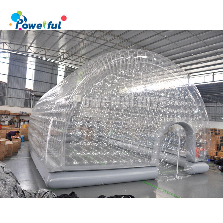 Air sealed winner inflatabledome cover tent for swimming pool