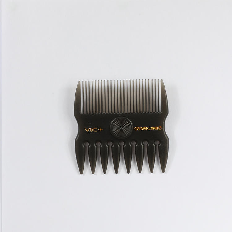 Professional Mens Portable Gyro Comb Hair Comb Brush For Salon