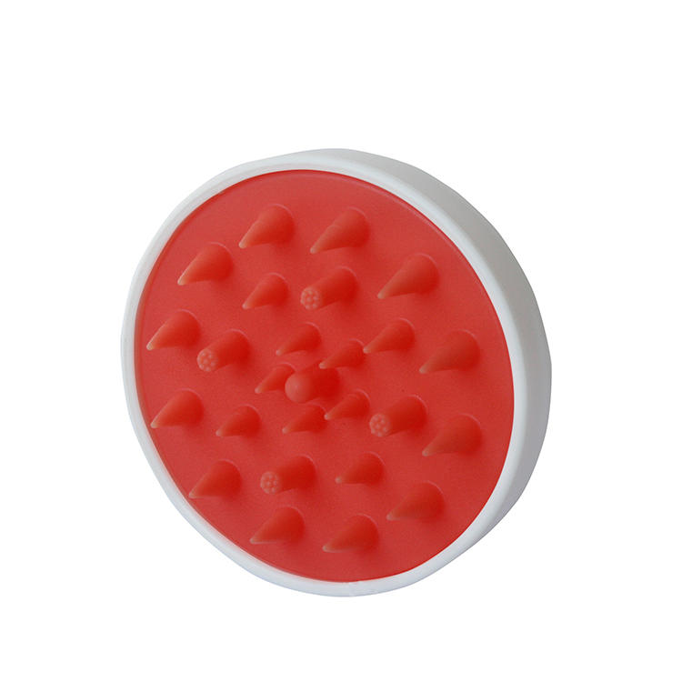 Hair Scalp Massaging Shampoo Brush Silicone Soft Comb for Scalp Care Hair Cleaning Shower