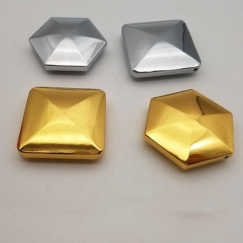 2020 Skill Toy aluminium alloy stainless steel 3d square shape flipos flips transfer finger tip toy desk toy with laser logo