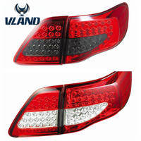 VLAND Manufacturer car accessories for car tail lamp for Corolla LED taillight 2007-2009 with LED drl