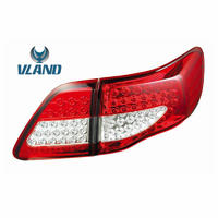 Vland Manufacturer LED car taillamp for Corolla LED tail lamp rear light year model for 2008-2010