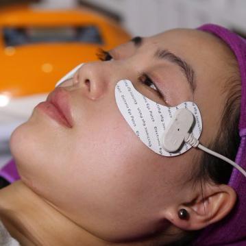 Home use under eye wrinkle circles treatment eye beauty machine
