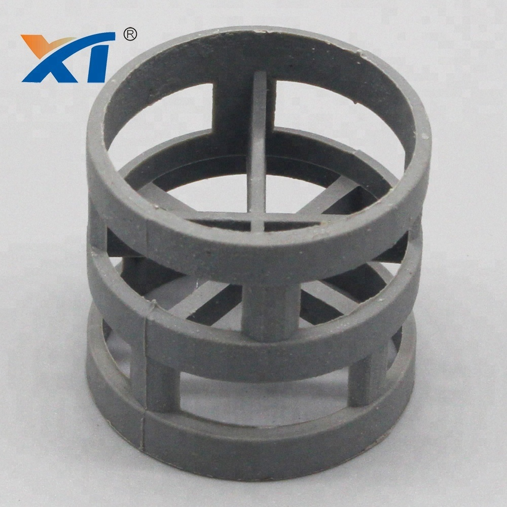 XINTAO pvdf pp plastic pall ring for tower packing