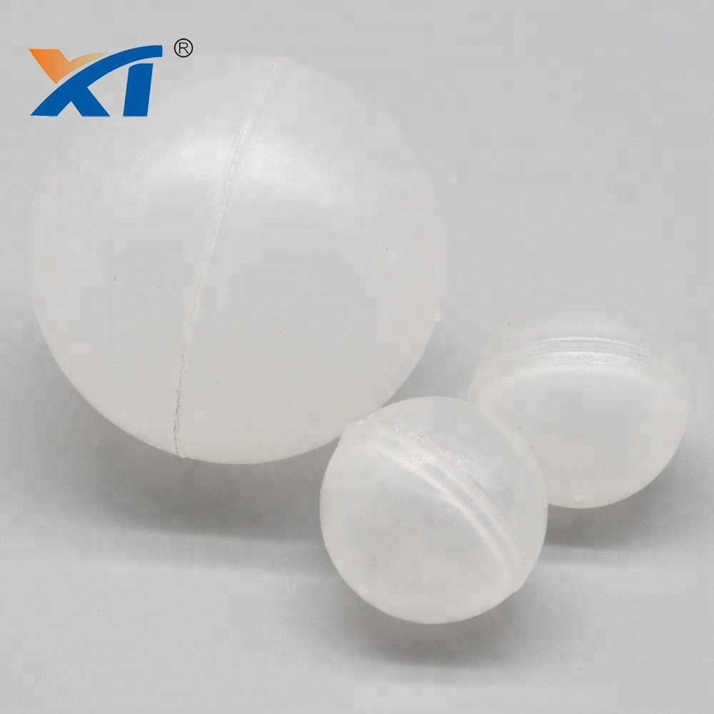 Clear Plastic Polyhedral Hollow Ball Water Separator