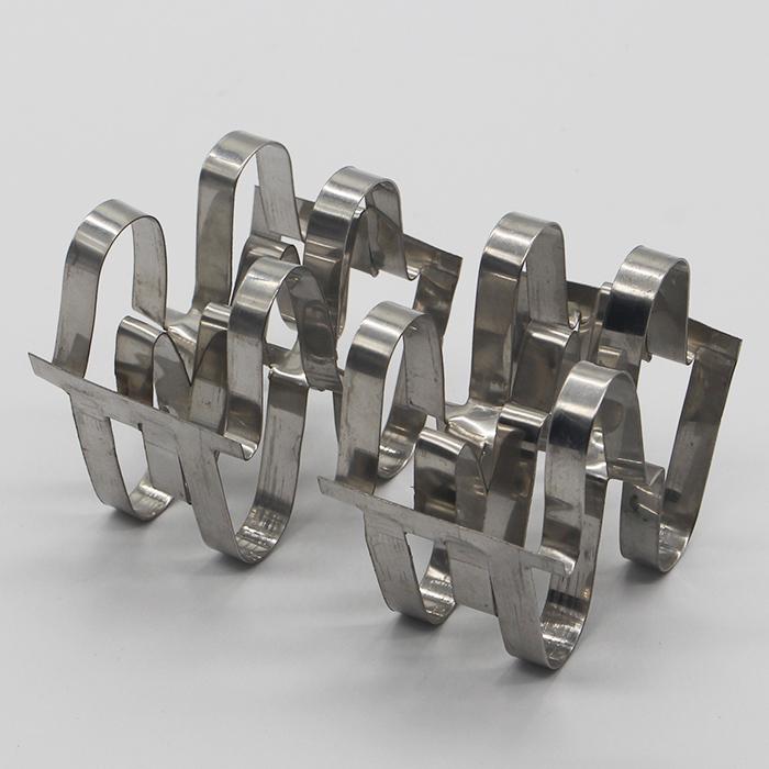 XINTAO metallic aternating wave structure modern metal super raschig ring