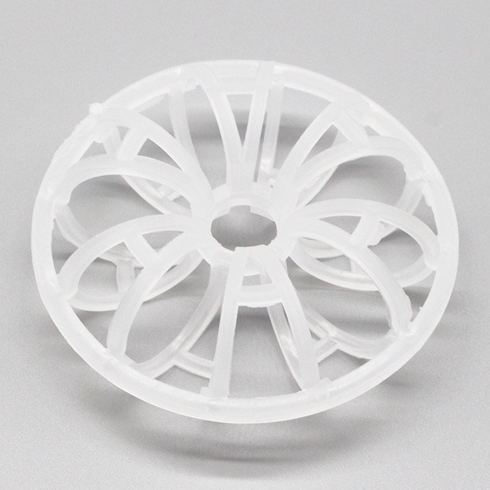 XINTAO PP PVC RPP PVDF CPVC PE Plastic rosette ring tellerette tower packing rings