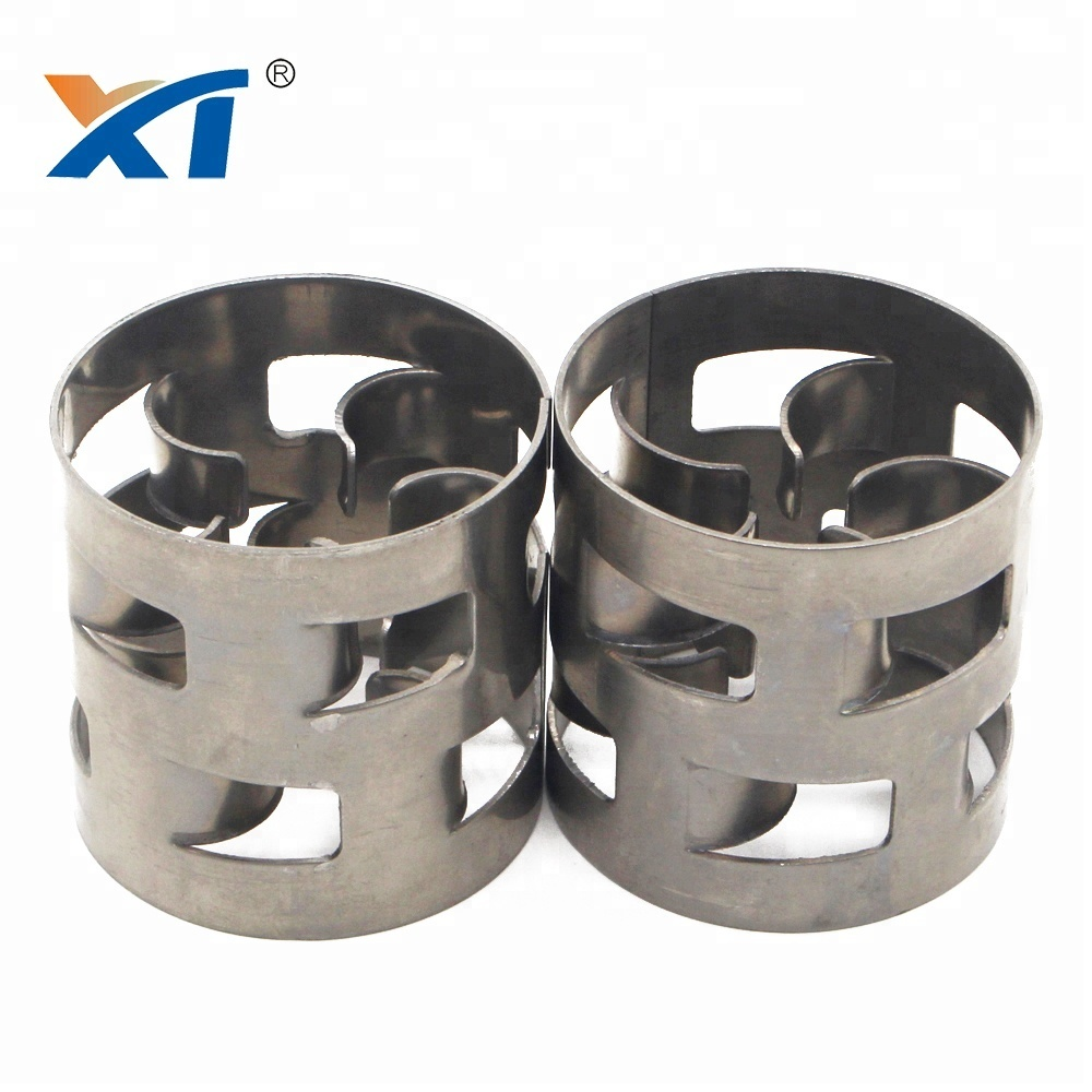 duplex stainless steel 2205 Metal packing pall ring for tower packing