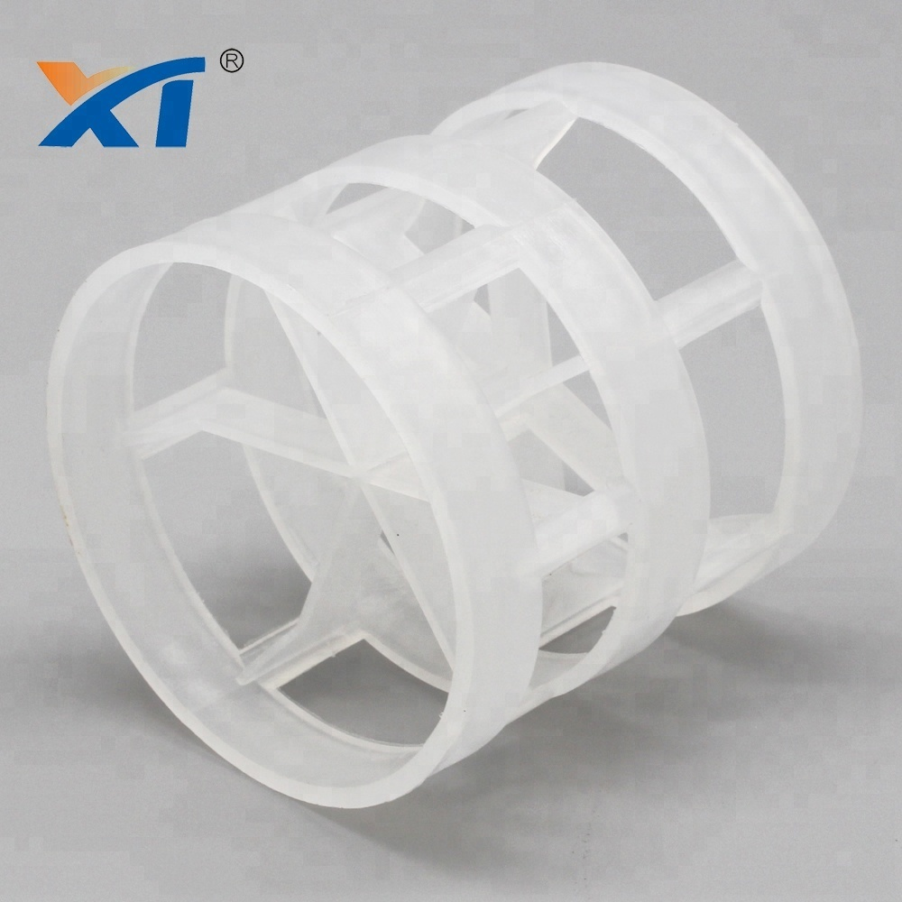 38mm 50mm plastic packing pp pall ring for tower packing plastic pall ring
