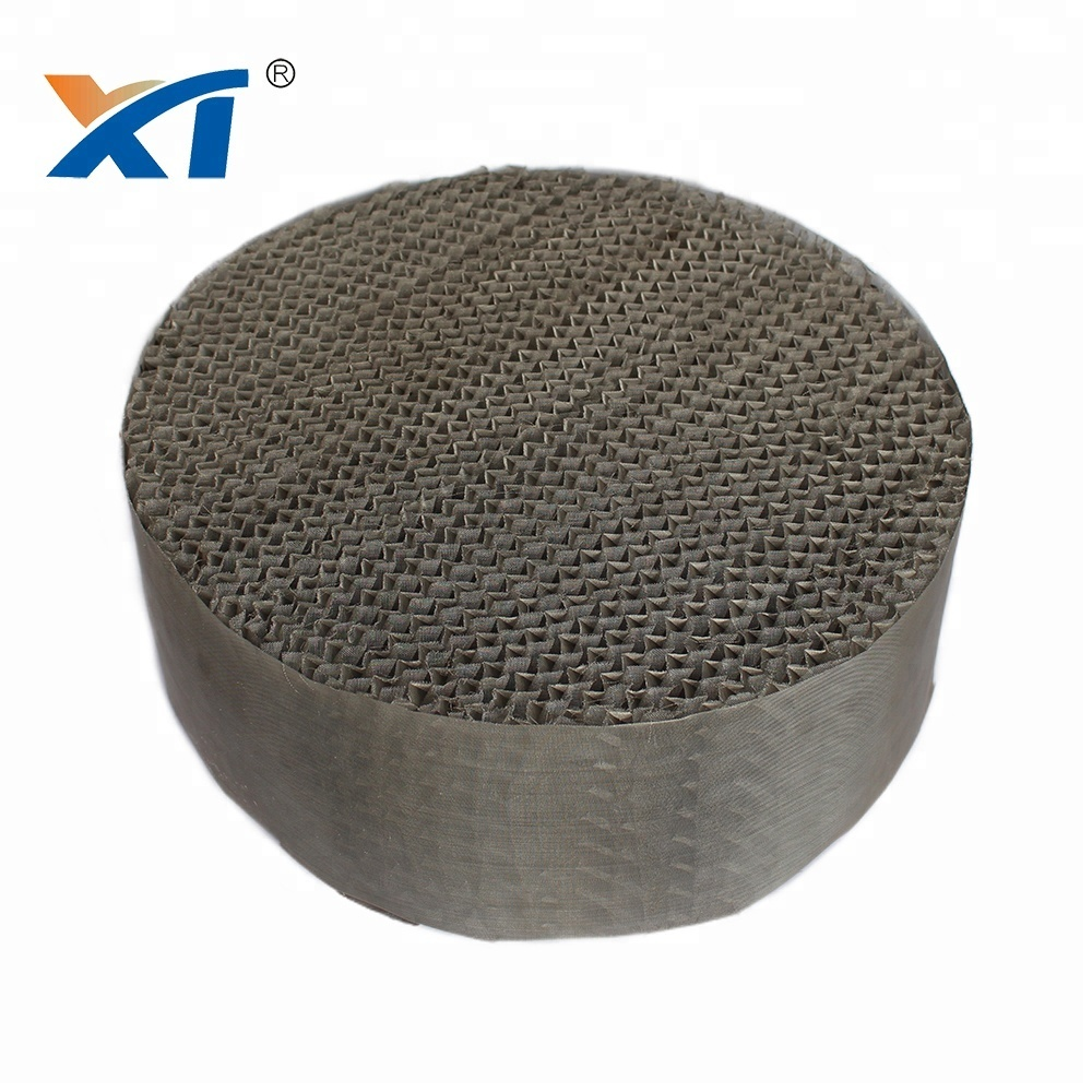 High quality stainless steel 304L metal wire gauze packing for absorption tower
