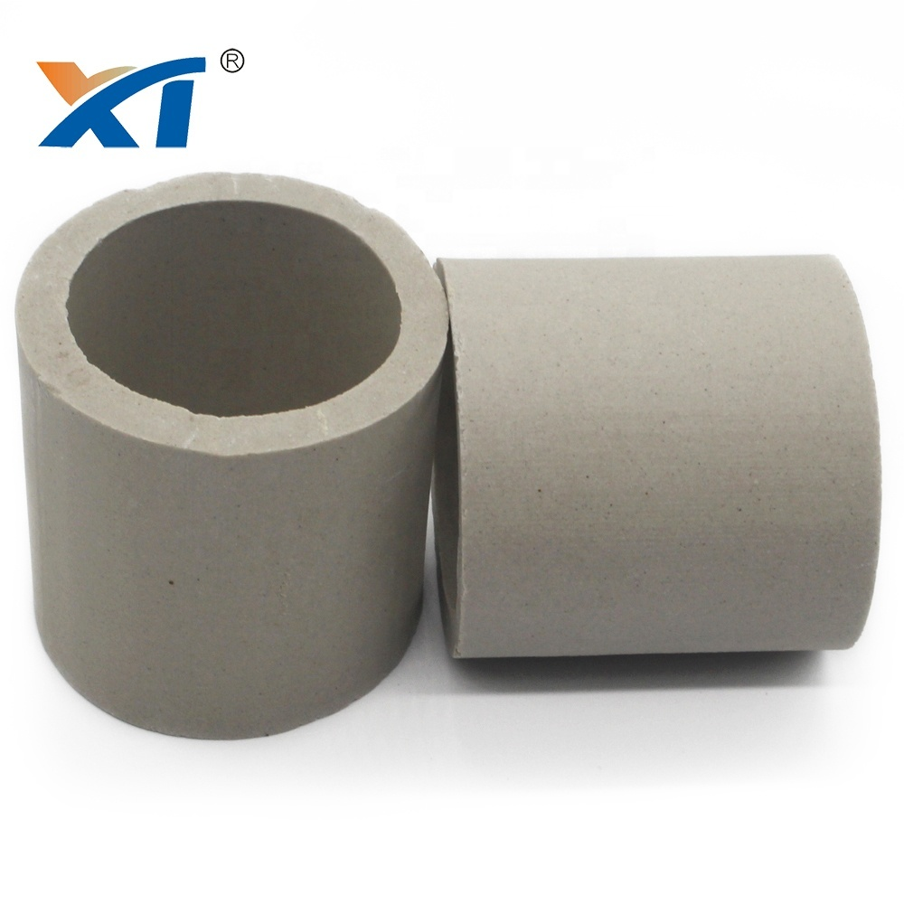 Ceramic Raschig Ring packing low rate water absorption