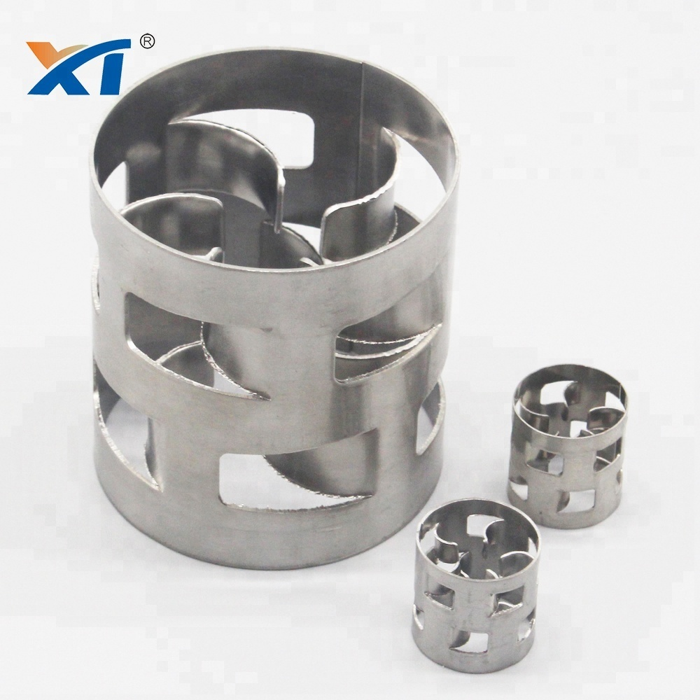 XINTAO Stainless Steel 304 316 410 Metal Pall Ring Packing