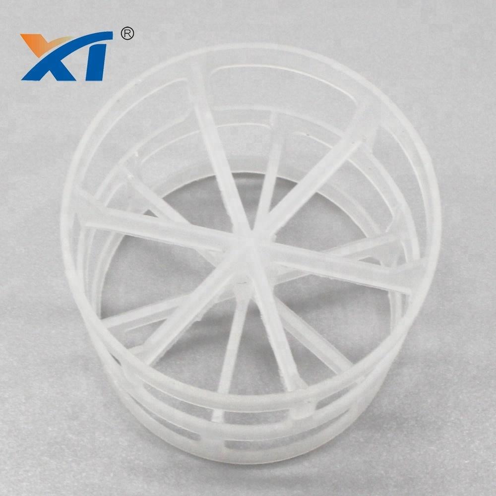 PVC PP PE plastic random tower packing plastic pall ring plastic