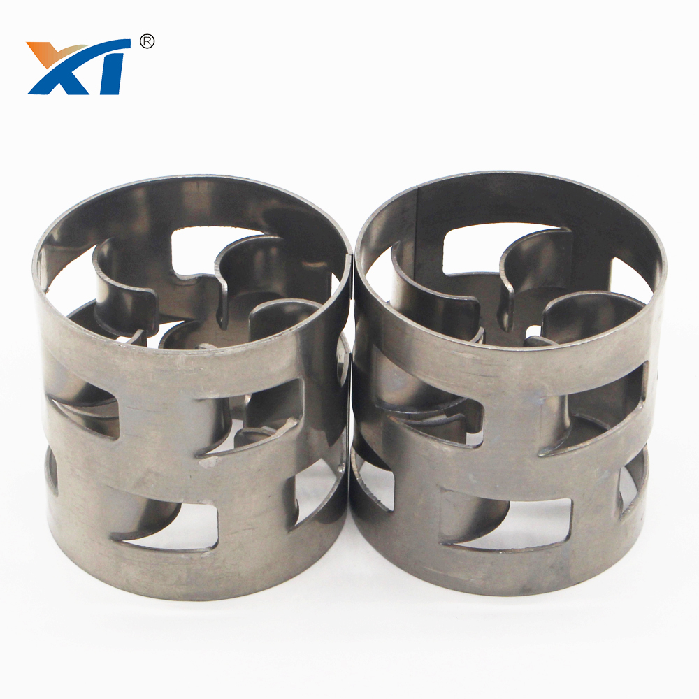 XINTAO stainless steel 2205 SS316l metal pall ring metallic pall ring for absorption tower