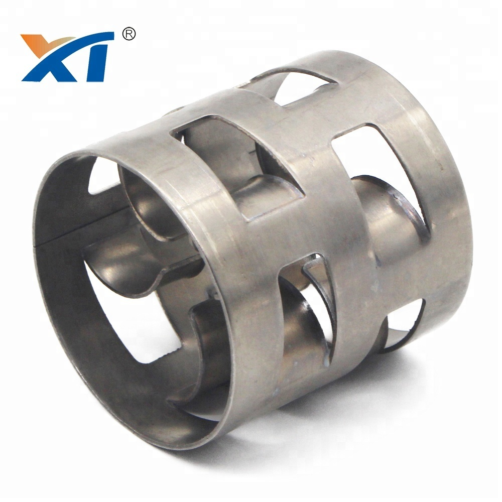 stainless steel metal pall ring tower packing