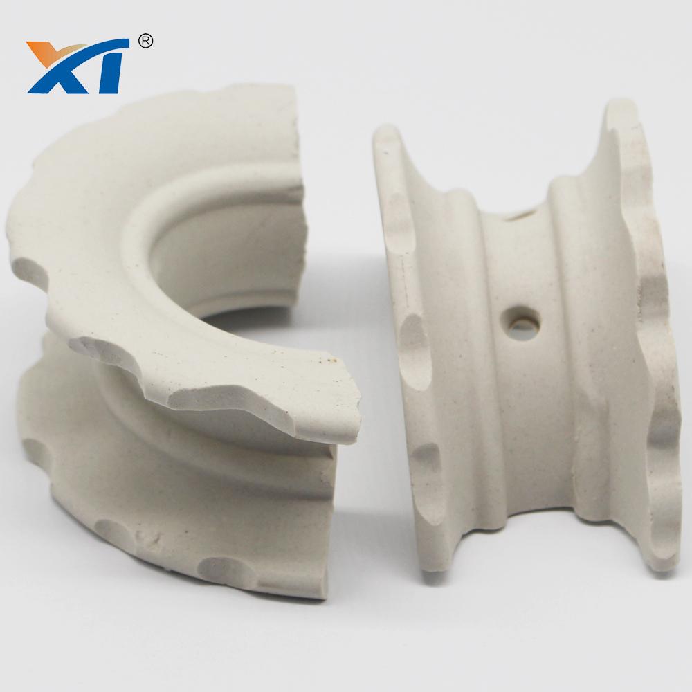 Distillation Column Ceramic Intalox Super Saddle Rings
