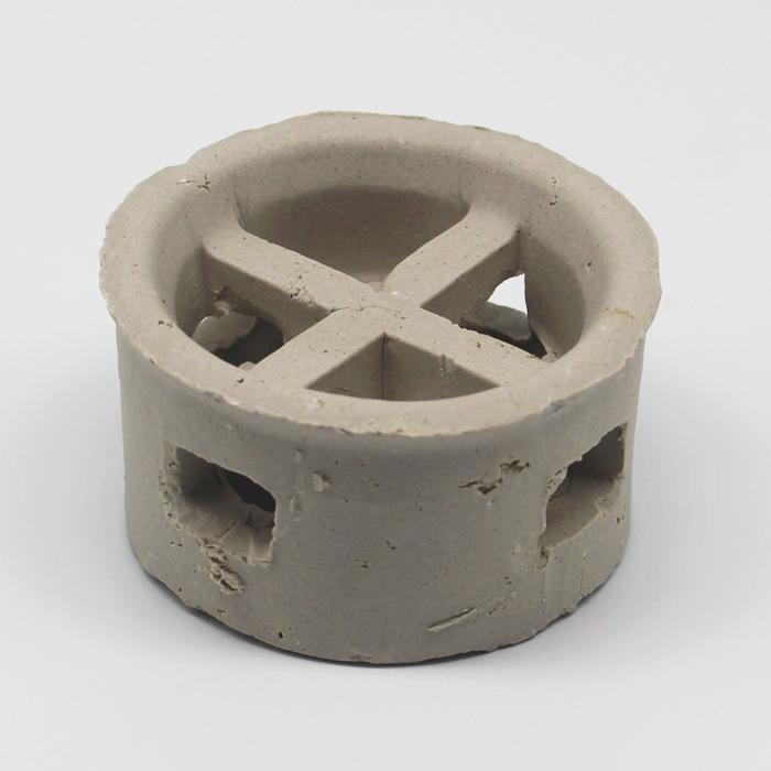 Xintao chemical tower packing ceramic cascade mini ring saddles