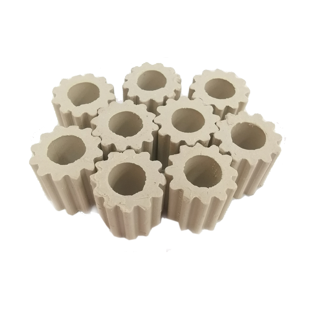 Ceramic Corrugated Raschig Ring for tower packing