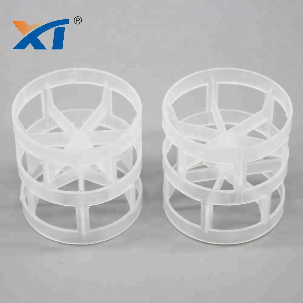 XINTAOPP PVC PE RPP PVDF CPVC plastic pall ring
