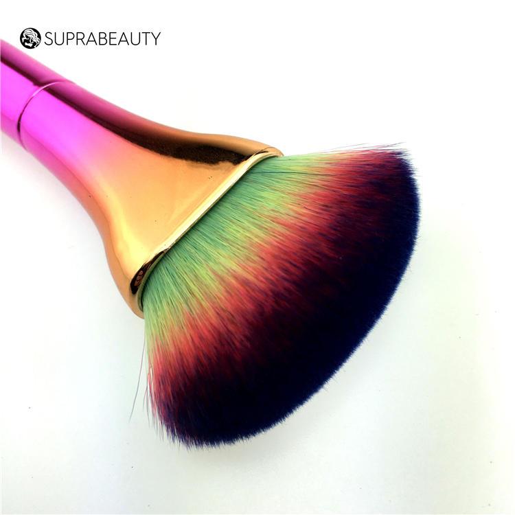 Wholesale unicorn foundation rainbow makeup brush