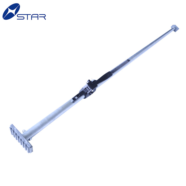 container Steel cargo stabilizer load lock bar ratcheting cargo bar