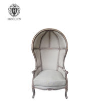 French Burlap-backed Leisure Chair for living room S1509