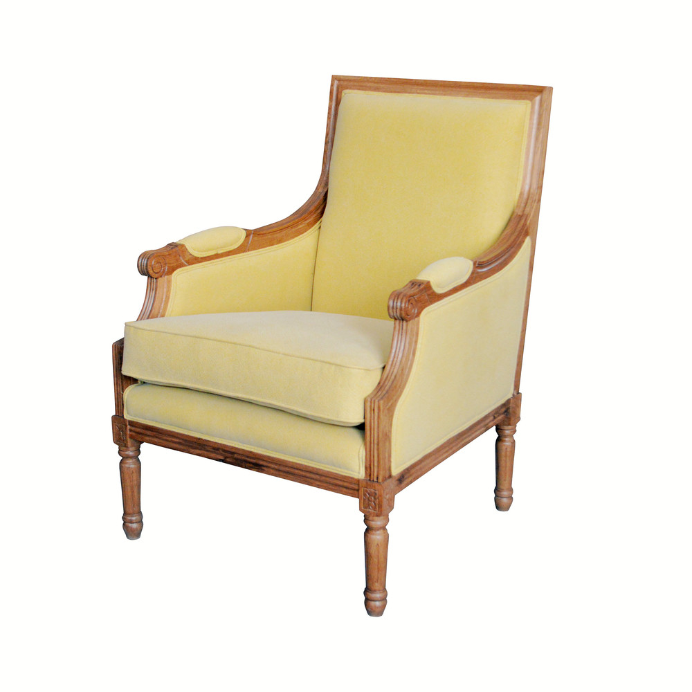 FRENCH LOUIS CLUB CHAIR