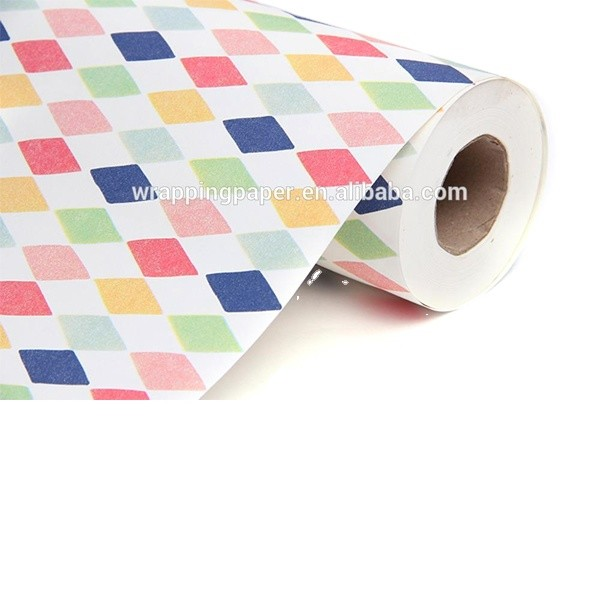 Gift wrapping paper counter roll craft paper jumbo paper roll70CM*200M