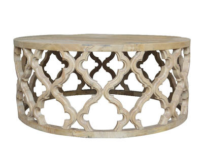 French Style Wooden Oak Coffee Table HL230